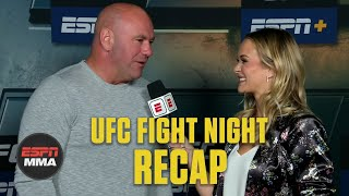 Dana White on light heavyweight title picture after Glover Teixeira's win | UFC Post Show | ESPN MMA