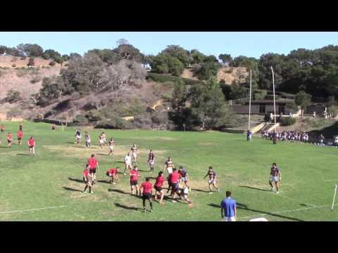 Rugby UCSB vs Santa Barbara Rugby Academy 11/6/16