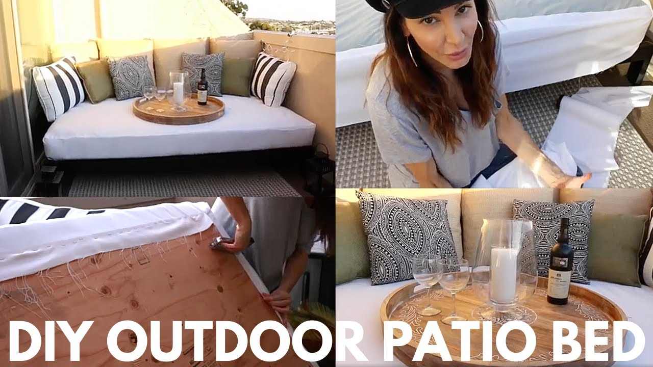 Outdoor Daybed Easy Diy