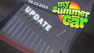 ZESTAW KLUCZY I JAKIEŚ BZDURY - My Summer Car UPDATE [09.12.2019] Omówienie Aktualizacji