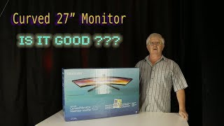 """27""""  Curved Samsung Monitor Review - Good Buy ?"""