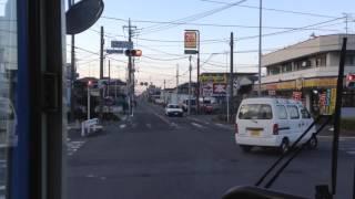神奈川中央交通 鶴間12系統前面展望(大和駅⇒鶴間駅)