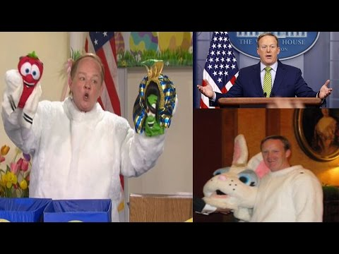 Thumbnail: Saturday Night Live SNL : Melissa McCarthy Returns as Press Secretary Sean Spicer for Easter