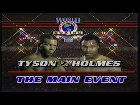 Mike Tyson vs Larry Holmes, HBO Program