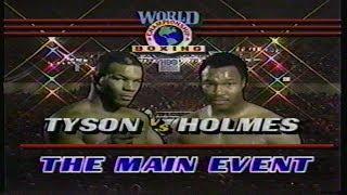 Mike Tyson vs Larry Holmes, HBO Program