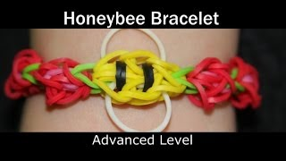 Rainbow Loom® Honey Bee Bracelet