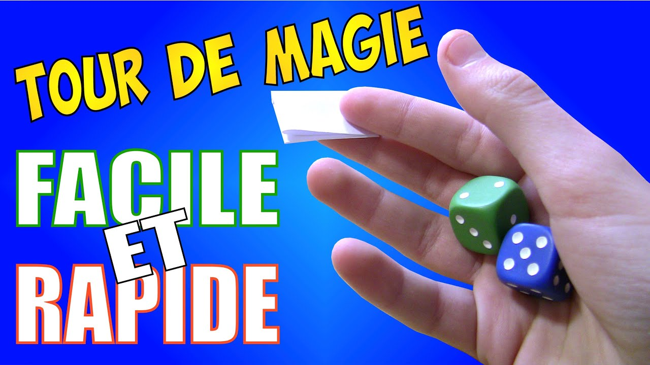 tour de magie facile mais impressionnant+explication