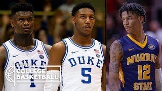 Will Zion Williamson be followed by Ja Morant & RJ Barrett in the 2019 NBA draft? | College GameDay