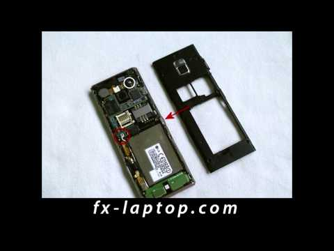 Disassembly LG Chocolate BL40 - Battery Glass Screen Replacement