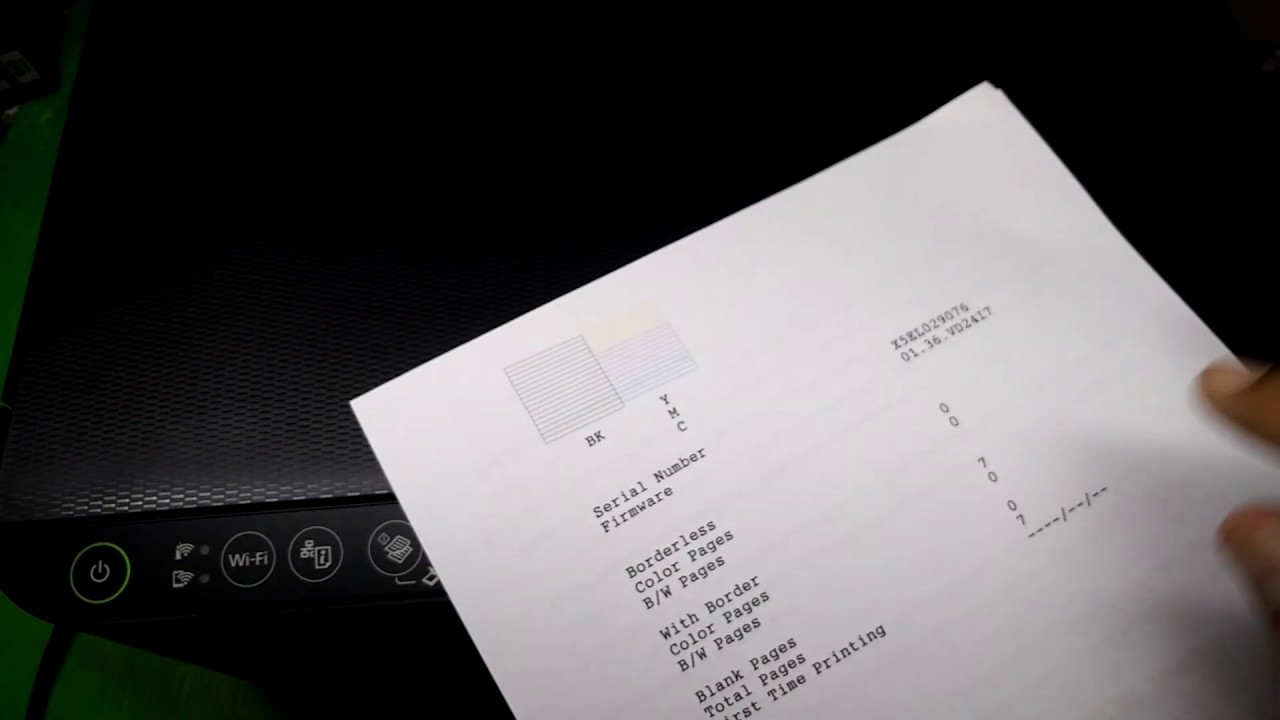 Epson L3110 L3150 Cleaning the Print Head without pc ไม่ต้องใช้คอม  วิธีล้างหัวพิมพ์