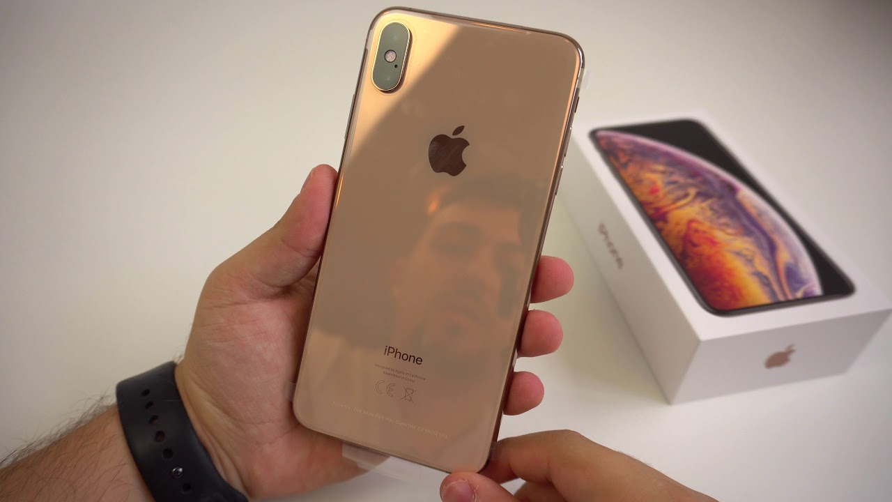 Apple Iphone Xs Max Gold 256gb Unboxing Hands On Erster