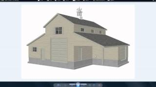 10 PDF Barn Plans Blueprints Construction Drawings