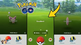 Pokémon GO | How To Skip The Catch Screen + Ball Shaking Animation! | Throwing Tutorial