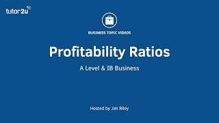 Ratio Analysis - Profitability