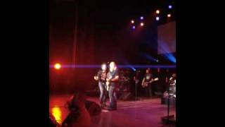 """Pulled on stage for Train's """"Save the Day"""" Superman Song in Royal Oak, MI"""