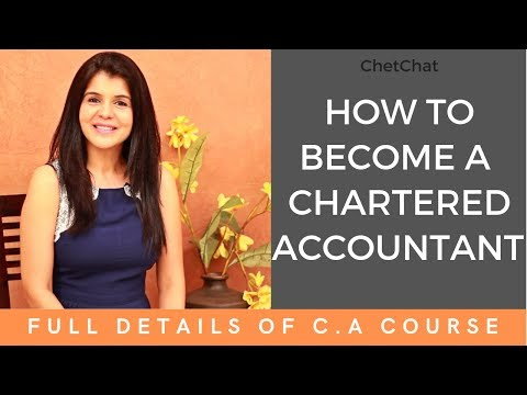 How to become a Chartered Accountant in India | All About CA Course I #ChetChat with C A