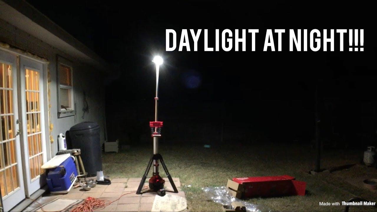 Milwaukee M18 Rocket Tower Light  Review