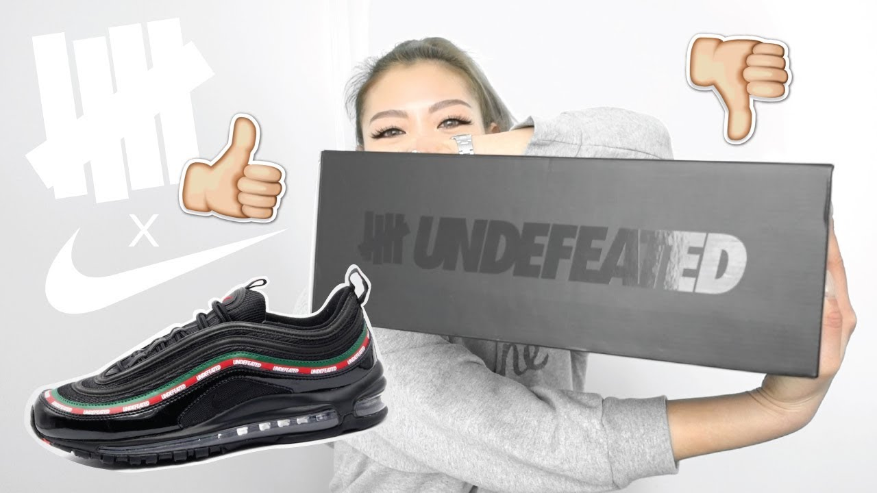 UNDEFEATED X NIKE AIR MAX 97 </p>                     					</div>                     <!--bof Product URL -->                                         <!--eof Product URL -->                     <!--bof Quantity Discounts table -->                                         <!--eof Quantity Discounts table -->                 </div>                             </div>         </div>     </div>     
