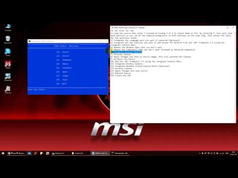 Tutorial: Run Windows 10 Pro under 1GB RAM (843MB used