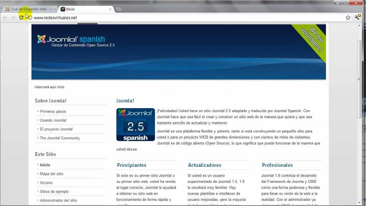 Administración de Plantillas en Joomla 2.5 - YouTube