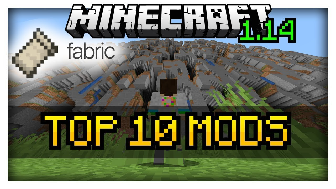 TOP 10 Mods for Minecraft 1 14 | Snapshot 19w14a | Fabric