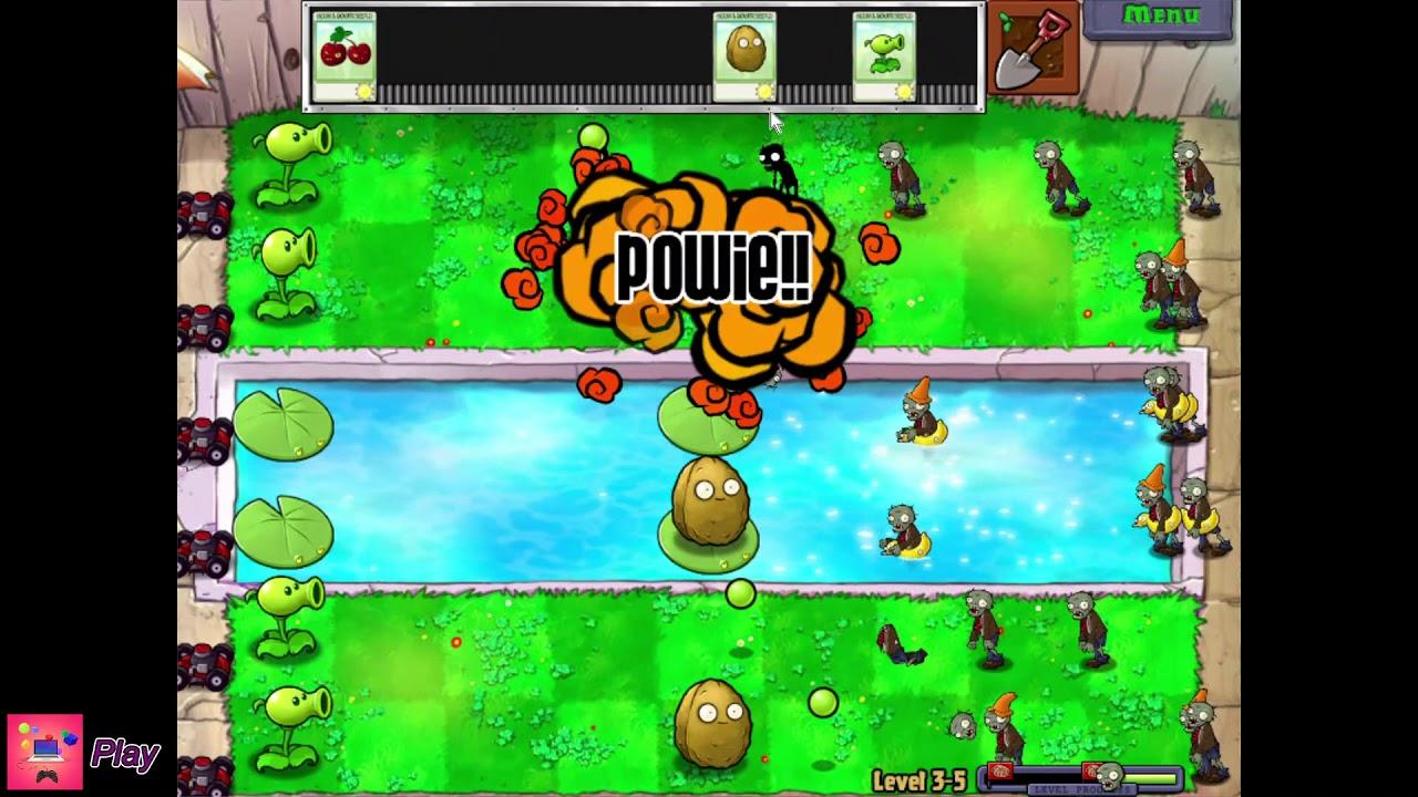 Plants vs. Zombies | Level 3-5 | Walkthrough