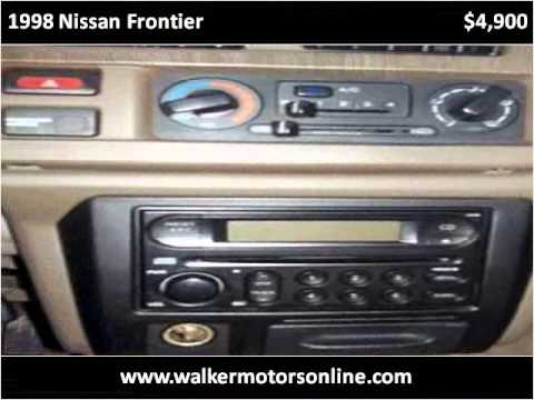 1998 Nissan Frontier Used Cars Hattiesburg MS