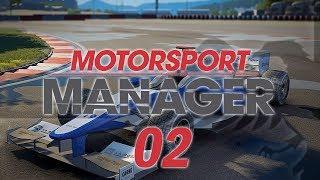 Motorsport Manager #02 BLACK SEA Custom Team - MOTORSPORT MANAGER Let's Play