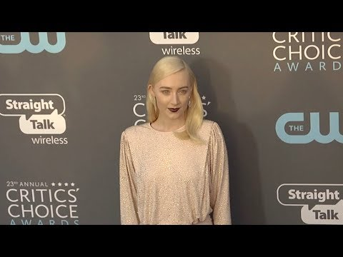 Saoirse Ronan at The 23rd Annual Critics Choice Awards