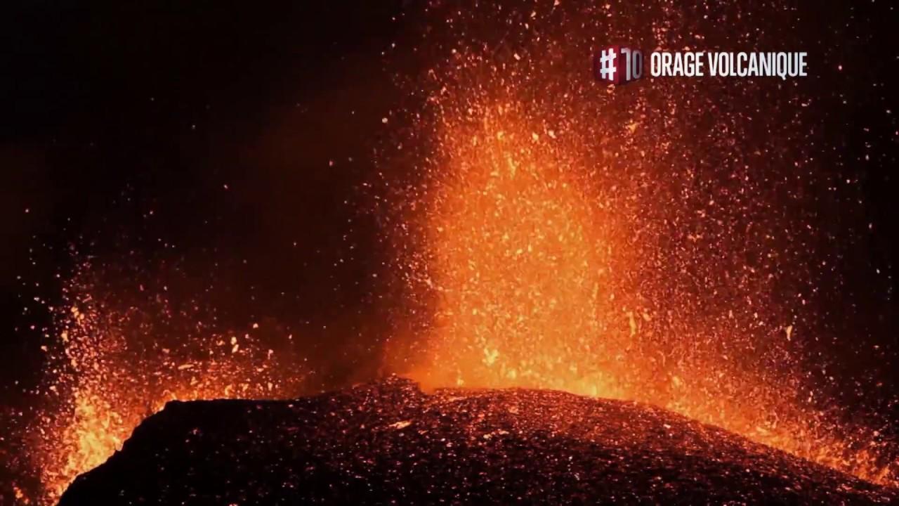 Top 10 phénomènes naturels : les orages volcaniques