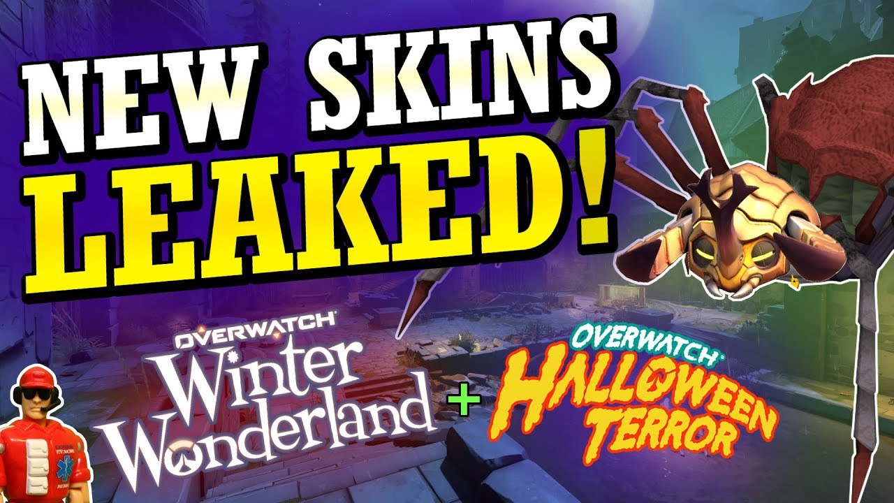 Overwatch Christmas 2019 Skins.Upcoming Event Skins Leaked Halloween 2018 Winter 2018 Overwatch News