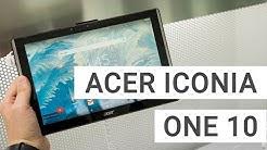 Acer Iconia One 10 B3-A40FHD: Das ist mein erster Eindruck