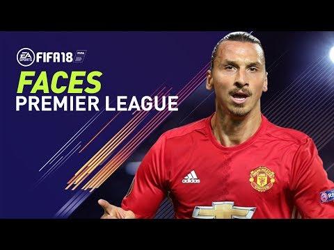 FIFA 18: PREMIER LEAGUE FACES