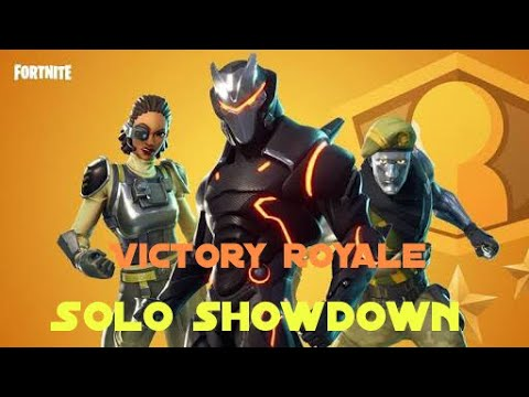 Fortnite VICTORY ROYALE  NEW MODE  SOLO SHOWDOWN  TAMIL Gameplay!