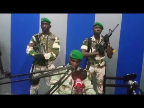 Gabon: Soldiers read message on state radio as shots heard in Libreville