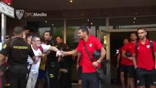 El Sevilla FC llega al Ramón Sánchez-Pizjuán para enfrentarse al FC Zalgiris