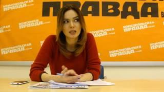 Анна Степанец, ведущая канала 112 Украина (часть1)