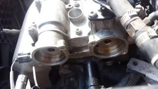 Замена цепи и звездочек на Polo Sedan 2013
