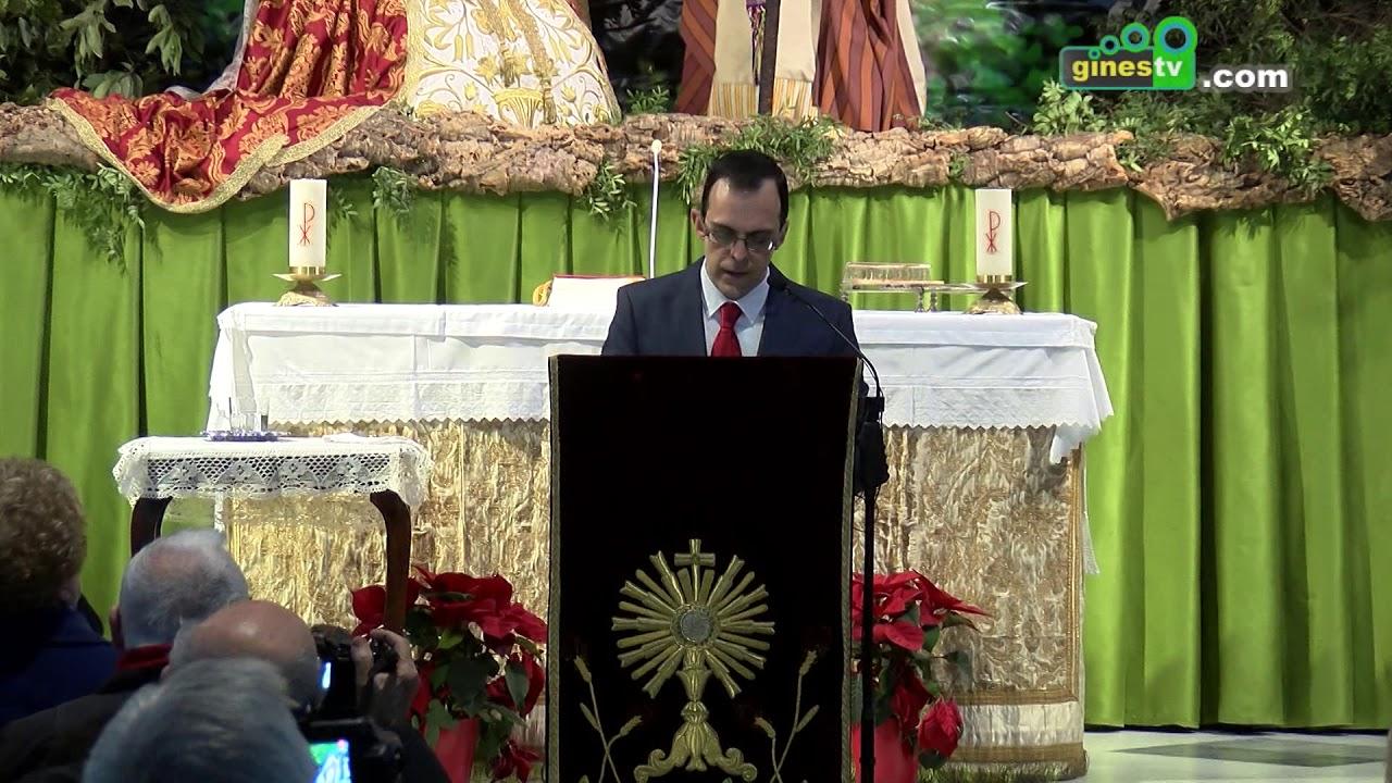José Rodríguez Polvillo hizo realidad el VII Pregón de la Navidad de la Parroquia