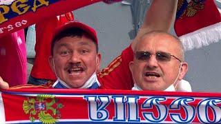Сборная России одержала сложную но очень нужную победу над командой Финляндии