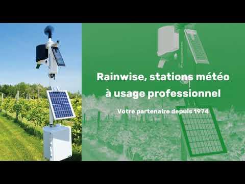 Rainwise, stations météo à usage professionnel