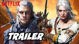 The Witcher Trailer New Scenes and Netflix Official Release Date Breakdown