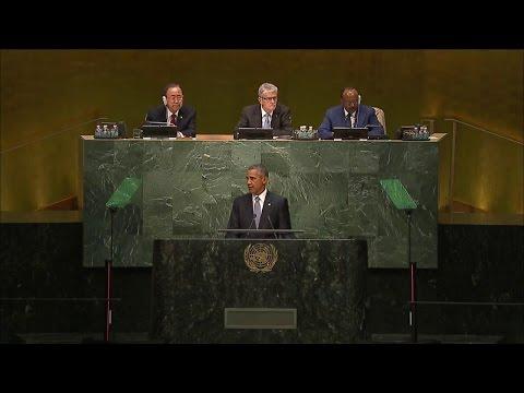 President Obama Addresses U.N. General Assembly