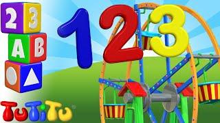 Числа обучения на английском языке | чертово колесо | TuTiTu дошкольный