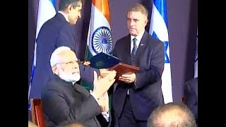 भारत और इजरायल के बीच कृषि और स्पेस समेत 7 समझौतों पर हुए हस्ताक्षर