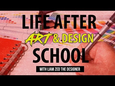 Graphic Design & Entrepreneurship Tutorials: Life after art design school.
