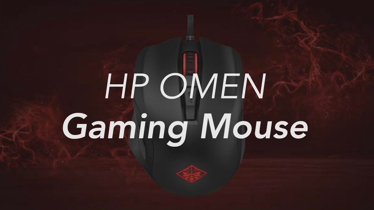 Hp Omen Gaming Mouse Youtube