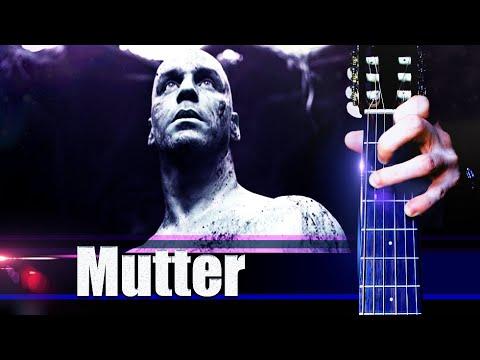 Rammstein - Mutter на Гитаре + РАЗБОР + ТАБЫ