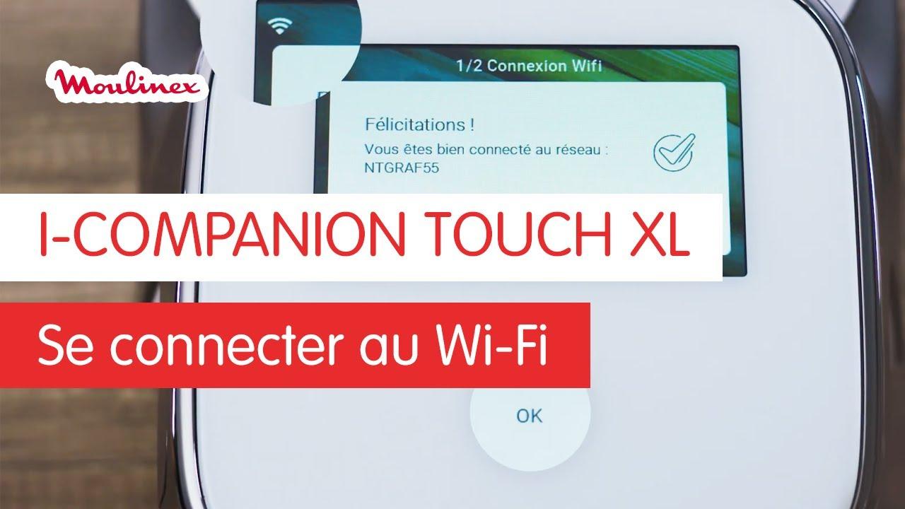 i companion touch xl comment le connecter au wifi