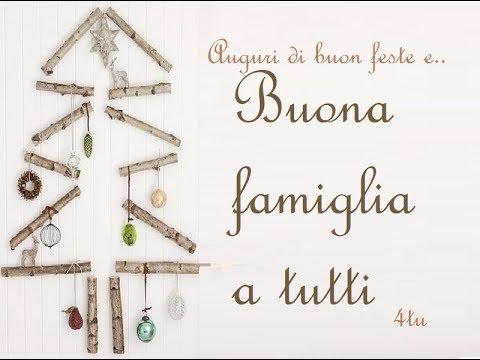 Auguri Di Natale Per La Famiglia.Buona Famiglia A Tutti 4tu I Migliori Auguri Di Natale E Anno